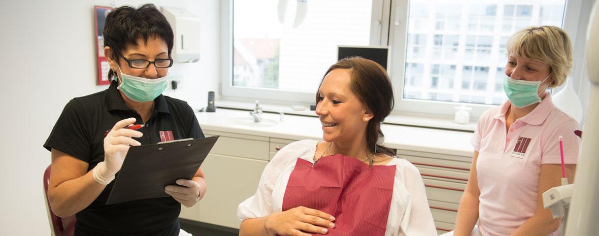 In der Schwangerschaft zum Zahnarzt? Mit der Praxis Paudler in Erfurt.