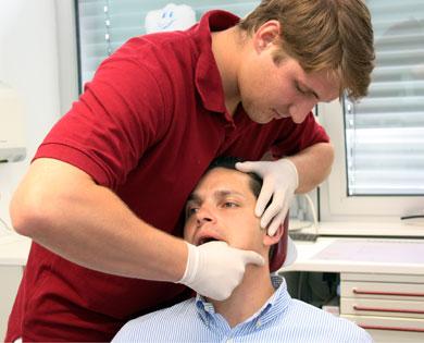 Schmerzen nicht immer von Zähnen - Informieren Sie sich über Physio.