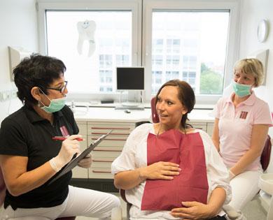 Zähne müssen auch von Schwangeren geschützt werden Paudler Erfurt.